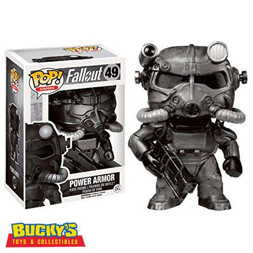 Fallout 4 Power Armor Funko Pop Games Vinyl Figure Collectible Gift # 49 NEW