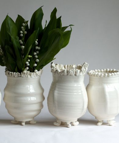 Frances Palmer - hand made vases.