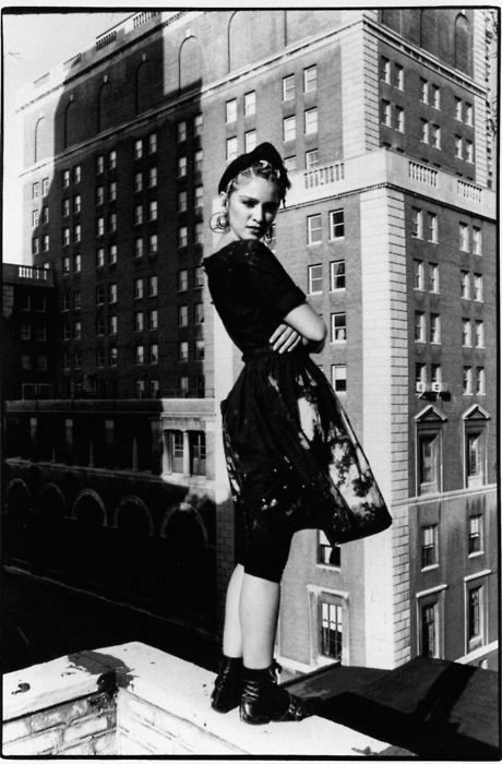 madonna, new york 80s