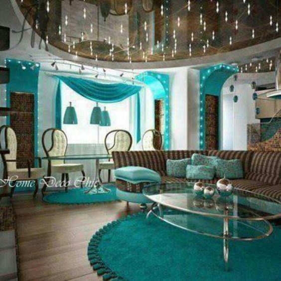 Best Love This Teal Brown Living Room Lr Ideas Pinterest Brown Living Rooms Brown And Love This 400 x 300