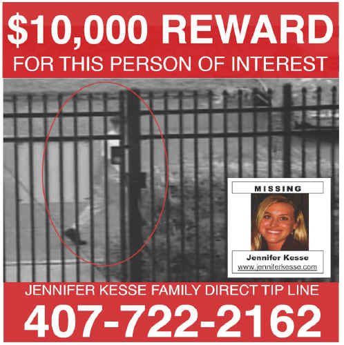 missing jennifer kesse from orlando,florida go to jenniferkesse - missing reward poster template