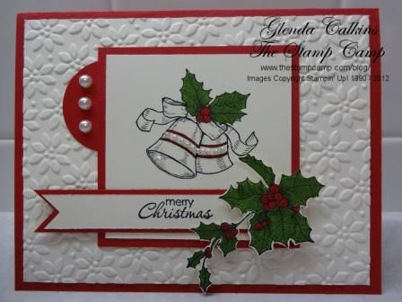 Bells & Boughs by Glenda Calkins - Cards and Paper Crafts at Splitcoaststampers