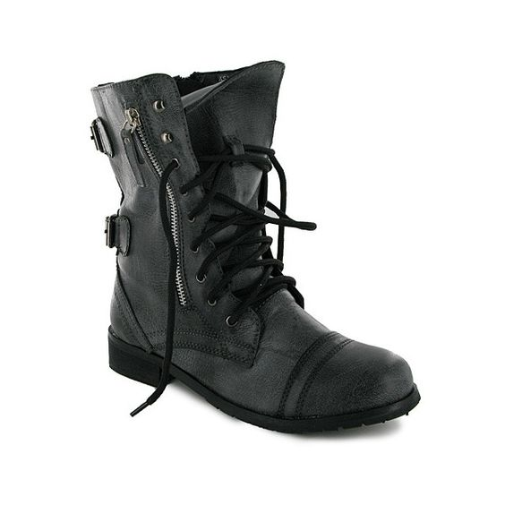 This exact boot! Or another super cute black combat boot thats ...