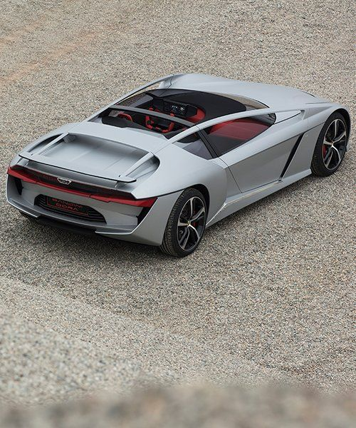 Open Top Gfg Style Bandini Dora Electric Car Sports Extended Halo Frame In 2020 Car Bandini Sport Cars