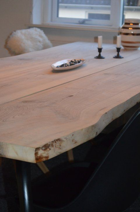 Plankeborde i ask og eg  måske kan man købe planker her ...