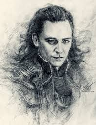 This is just a perfect drawing of Loki