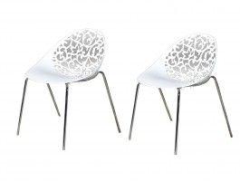 Design on pinterest for Chaise blanche contemporaine
