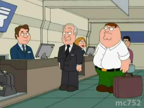 Family Guy -Stuck behind Robert Loggia
