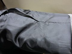 altering from inside a jacket lining