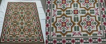 Resultado de imagem para tapetes e panôs bordados à mão - Passo a passo