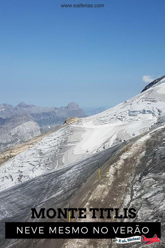 Tudo sobre nossa visita ao Monte Titlis