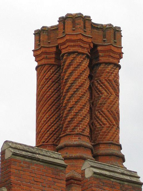 Tudor Chimney Stacks Were Often Highly Decorated To