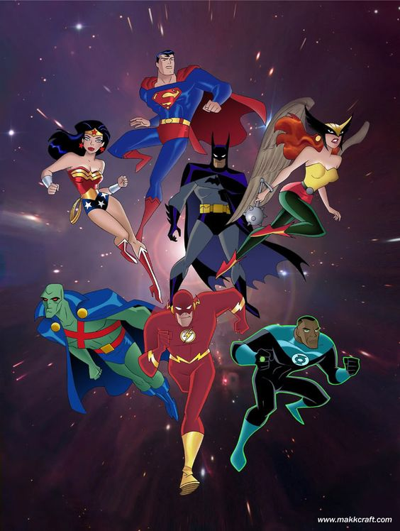 Justice League. Again some nice deep characterization and complex storytelling. AND some cute Wonder Woman and Batman interplay.