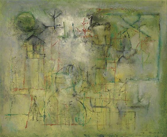 Zao Wou-Ki (1921-2013) Untitled, 1951