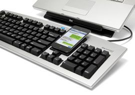 Control Your PC & Smarphone with One Keyboard