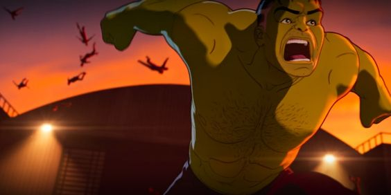 A Still Of Hulk From Marvel's What...If? Zombie
