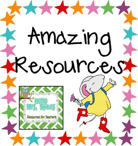 Hello Mrs Sykes - Resources for Teachers: Amazing Resources, Part 2 and a SALE