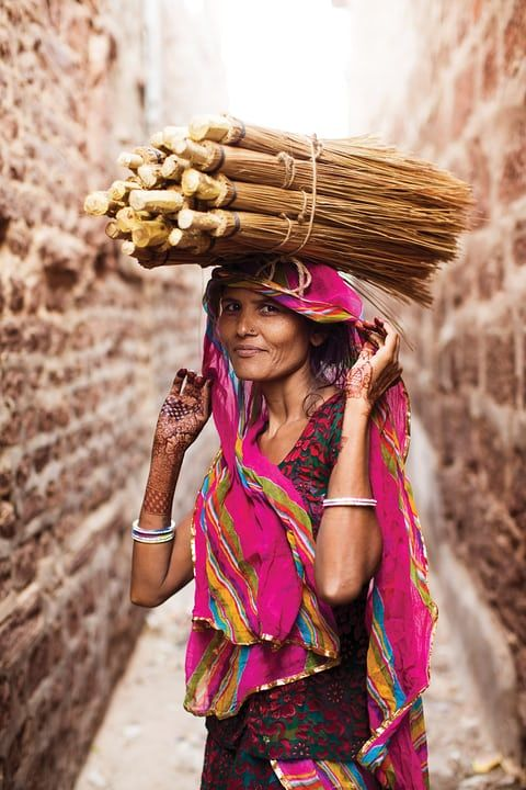 India-Grace and strength wonderfully coexist in most Indian women that I met.• The Atlas of Beauty is published by Penguin on 26 September, priced £25. You can order it from the Guardian Bookshop for £21.25. Photograph: Mihaela Noroc