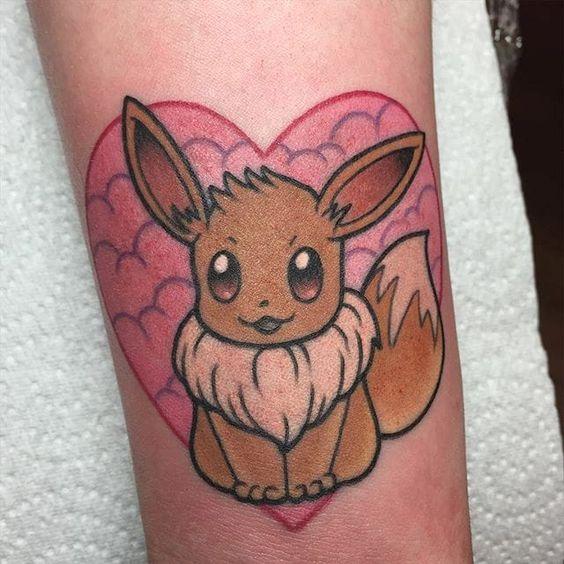eevee tattoo - photo #7