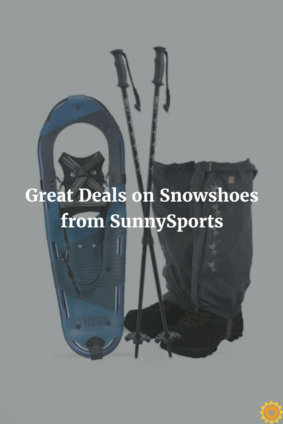 Get out into the snow and have some fun with these snowshoe deals!