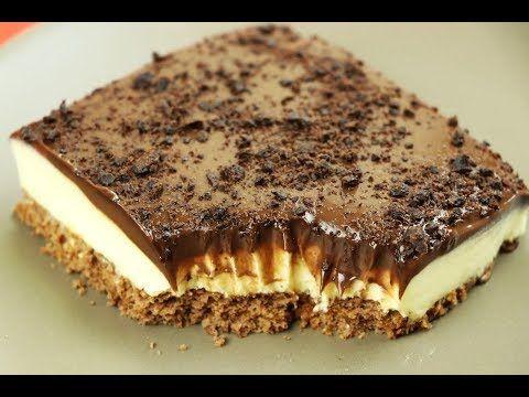 حلى بارد فاخر حلويات سهلة وسريعة بدون فرن تحضر في 5 دقائق مع رباح محمد الحلقة 529 Youtube Cold Desserts Cake Recipes Food