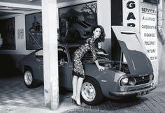 Lancia Fulvia Sport Zagato #Monica #bellucci