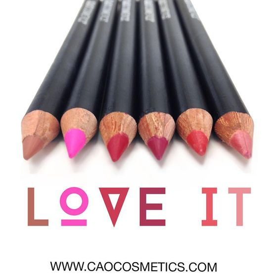 Next to add to your #FallMakeup collection. You'll love it because there are 6 colors to choose from. #caocosmetics #lips #lipaffair   Shop online @ www.caocosmetics.com Use code: pntrst20 for 20% off orders $50+