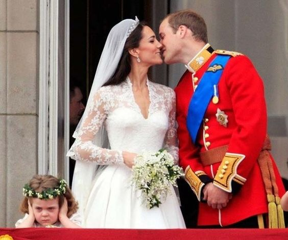 The flower girl who had a lousy day at the Royal Wedding. | The 50 Cutest Things That Ever Happened
