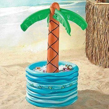 Amazon.com: Inflatable Palm Tree Beer/Soda Cooler: Patio, Lawn & Garden