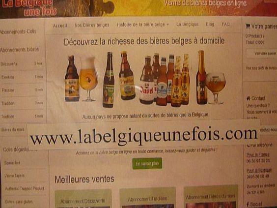 """Notre e-commerce """"La Belgique une fois"""" plus d'infos http://labelgiqueunefois.com//accueil"""