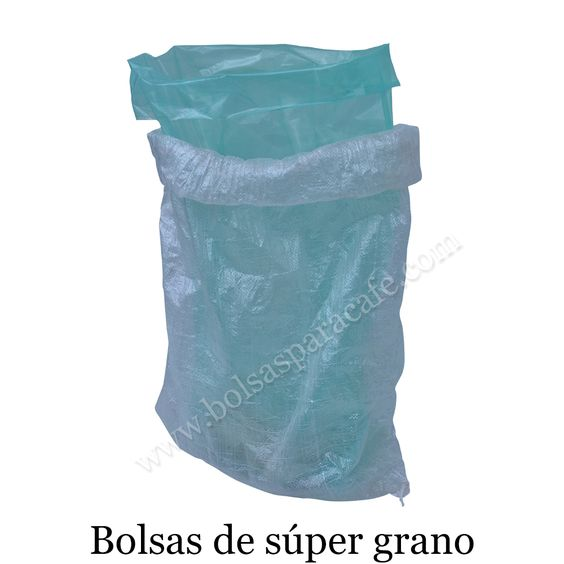 The #Bolsasdesúpergrano is a line manufactured essentially for the market of the coffee sector, in the pursuit of favouring the good condition the grain of coffee, but it can also be used for any kind of grain. www.bolsasparacafe.com/bolsas-de-super-grano/