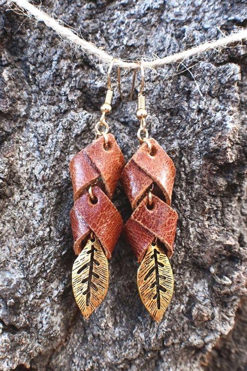 Boho earrings cherry time