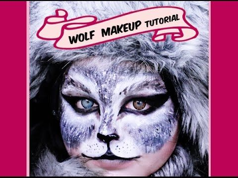 gray wolf makeup tutorial great for halloween youtube. Black Bedroom Furniture Sets. Home Design Ideas