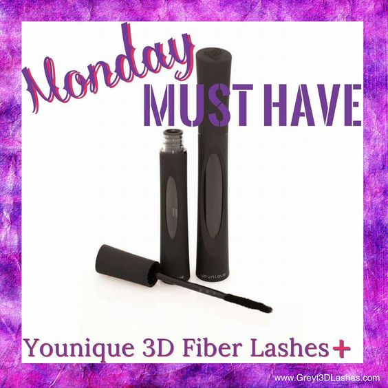 Younique Moodstruck 3D Fiber Lashes➕ Mascara Monday must have www.Greyt3DLashes.com