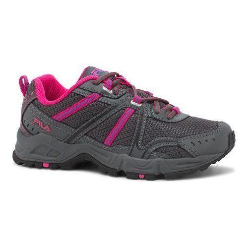 Women's Fila Ascente 12 Trail Shoe Castlerock/Pink Glo/Electric Lemonade