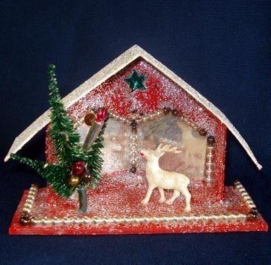 Christmas Putz House
