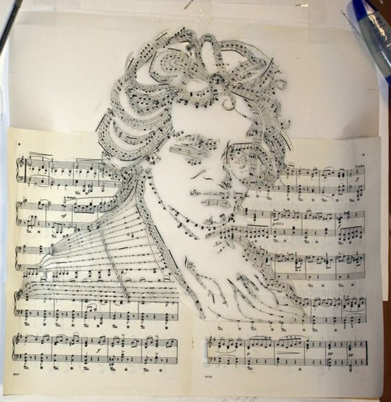 Beethoven Made of His Own Musical Notes - My Modern Met