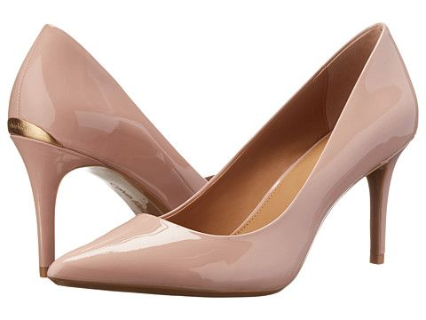 Calvin Klein Gayle Dusty Pink Patent - Zappos.com Free Shipping
