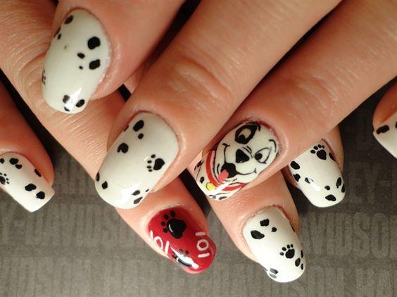 101 dalmatian nails - Google Search