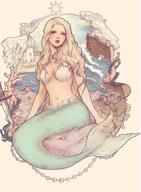 Hi there :) I'm Joy. I'm 18 years old. I'm a siren, and I'm working against the White Queen. I sing my song while her troops are sailing into my territory.  Everyone's scared of me, and I wouldn't be surprised if any of you are, too.
