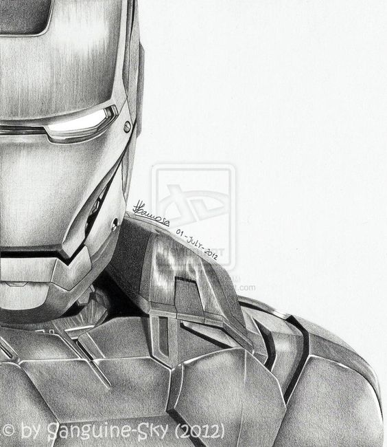 The Avengers half series - Iron Man by ~Sanguine-Sky on ...