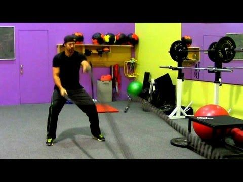 15 minute Circuit Training Workout for Fat Loss - MMA / Boxing style