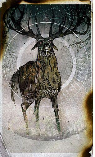 Inquisitor tarot card - Lavellan Apprentice