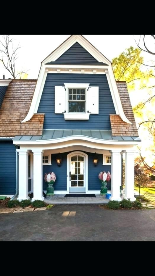 Image Result For What Colors Go With A Reddish Brown Roof House Color Schemes House Colors Brown Roofs