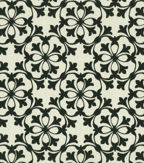 Home decor fabric waverly courtyard black fabric and pattern pinterest patios tissu de - Decoration interieure man of cloth ...