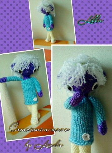 Amigurumi Crochet Doll Dolies Animal Bear Girl by LindagurumiStore my own design #amigurumi #crochetdoll #crochetbear #toydoll #lindagurumistore