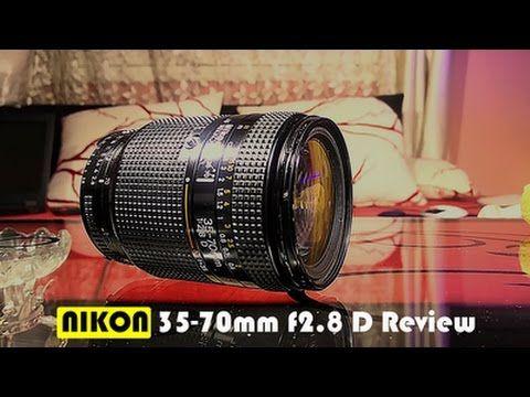 Nikon 35 70 F2 8 D Review Youtube Nikon Film Camera Howto