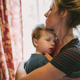 finding joy: the simple raw beauty of motherhood... Such a sweet article.