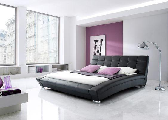 lit emma noir 160x200 cm fin de srie lit fantaisie lit adulte - Set De Chambre King Noir