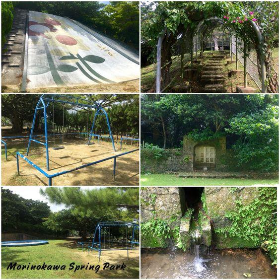 Morinokawa Spring Water & Park. Address: 1 Chome-20-6 Mashiki, Ginowan, Okinawa Prefecture 901-2224. Coordinates: 26° 16′ 15.62″ N 127° 44′ 30.17″ E
